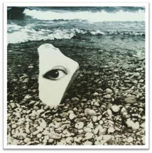 Auge in Stein